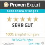 Proven Expert Bewertung