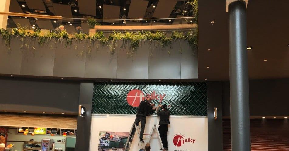 Arbeiten vor Öffnungszeiten in Malls