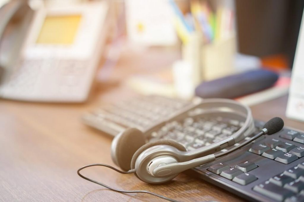 Telefonverkauf und Videoberatung