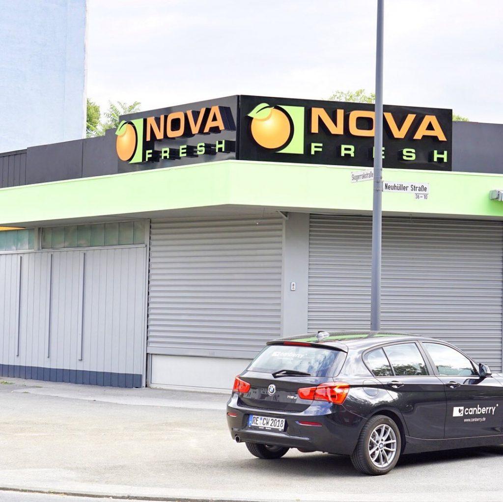 Werbeanlage Nova Fresh
