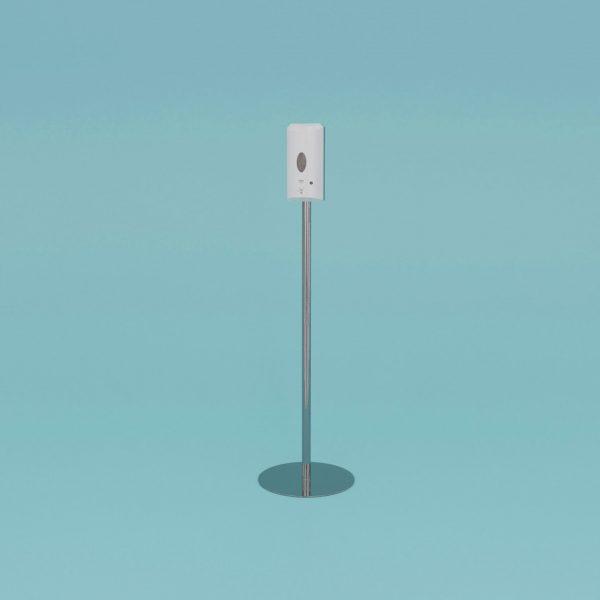 Desinfektionsspender mit Sensor und Standfuß