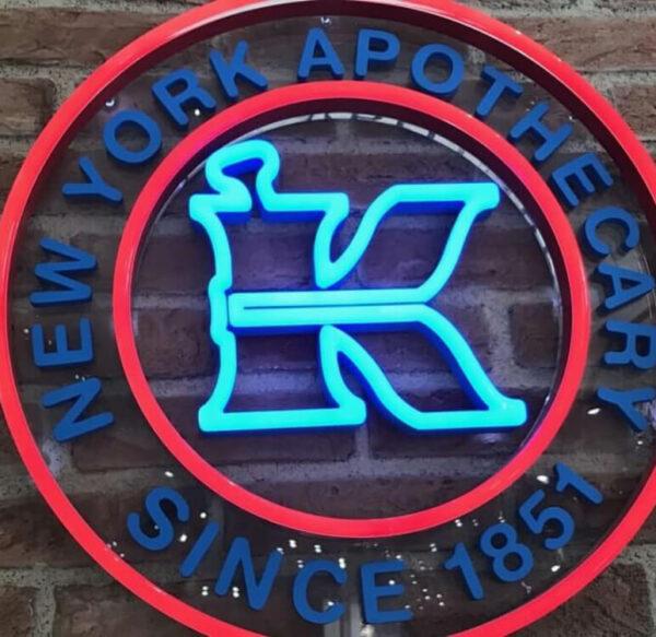 3D Logo beleuchtet